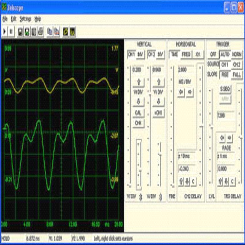 Use your PC like an Oscilloscope