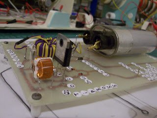 Sec Exciter Powered HV Capacitor Charger IC Circuit