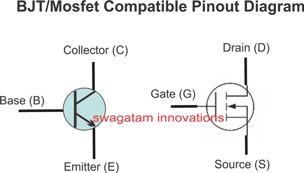 How to Replace a Transistor (BJT) with a MOSFET