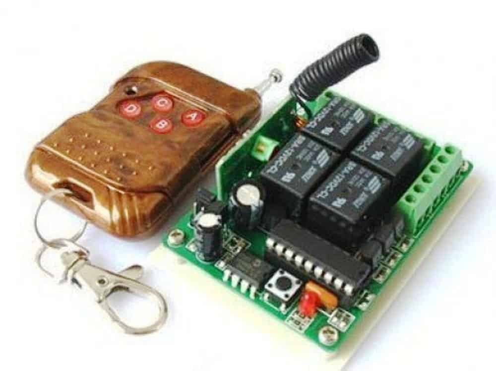How to Buy and Use RF Remote Control Modules – Control Any Electrical Gadget Remotely