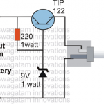 simplest DC cell phone charger circuit 150x150 - Cell Phone Triggered RF Night Lamp Circuit