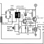 Mains AC Overload protection Circuit for Voltage Stabilizers