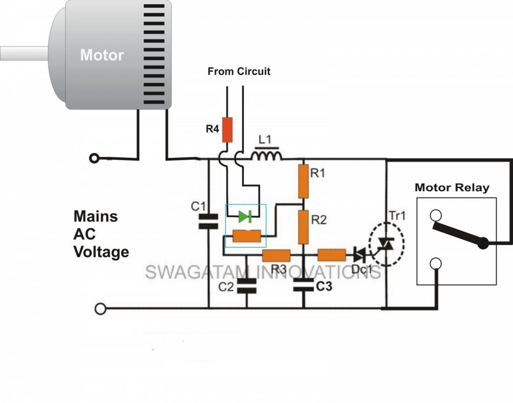 Single Phase Soft Starter Circuit Diagram Wiring Diagram