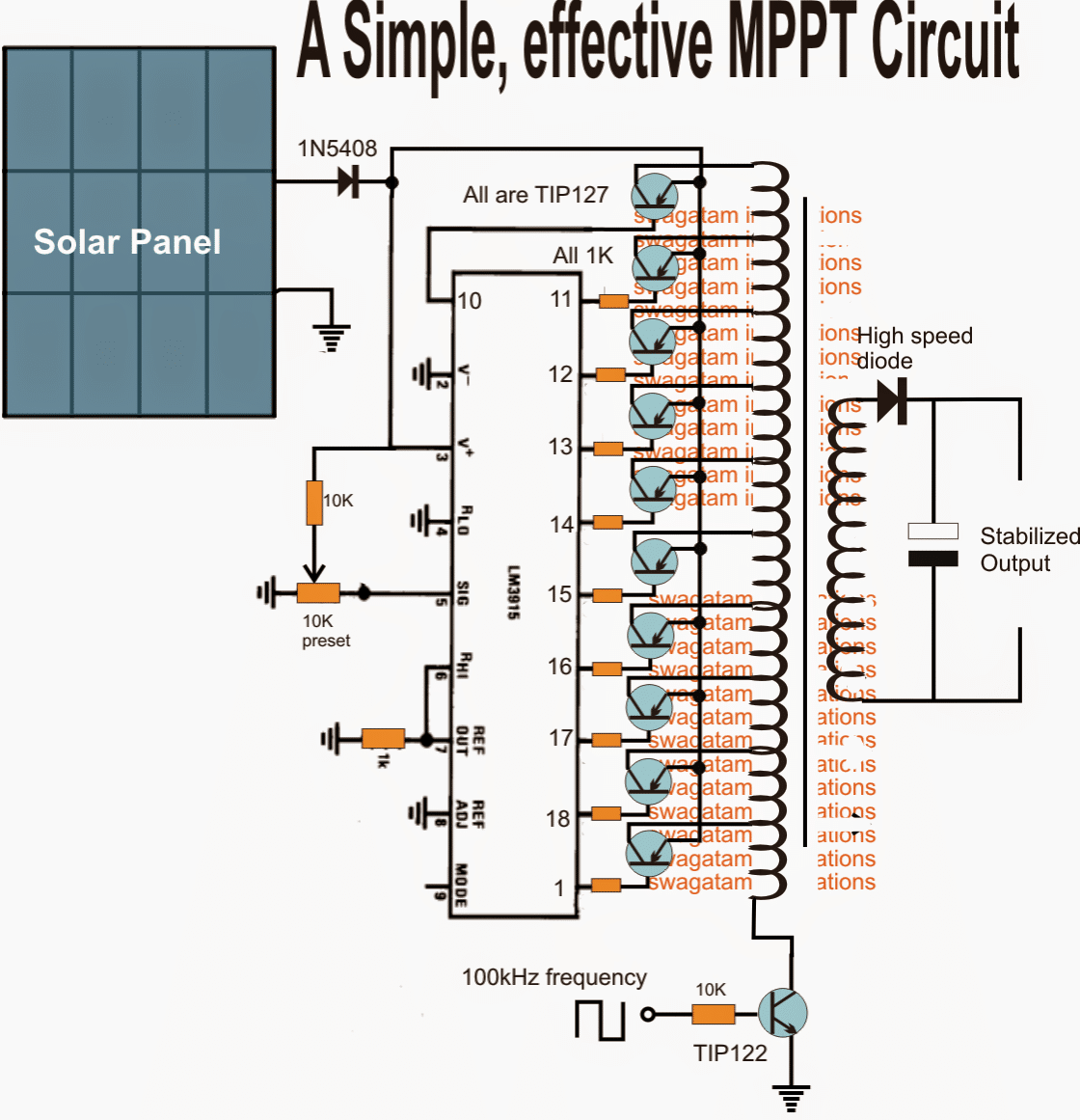 Powerpoints Light Switches besides 12v Car Laptop Charger Circuit Using also Synchronous Switch Mode Mppt Battery together with Solar Cell Mppt also Projecta 12v 200  Vsr. on solar charger controller circuit