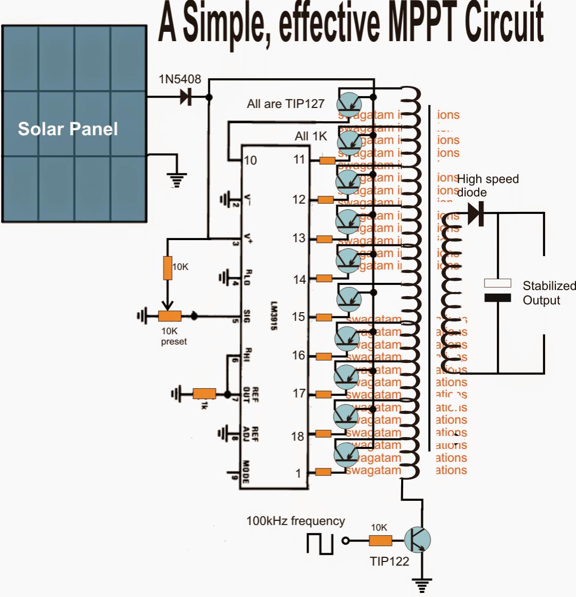 simple flyback MPPT design