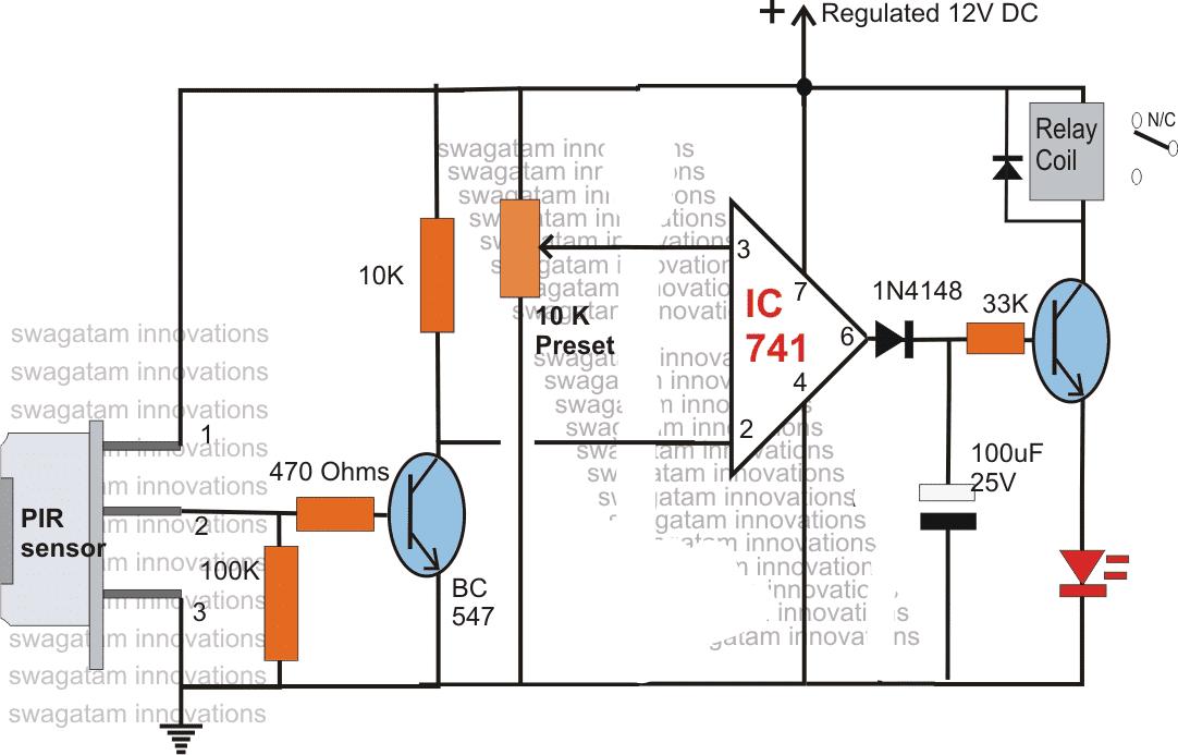 Photo Detector Circuit