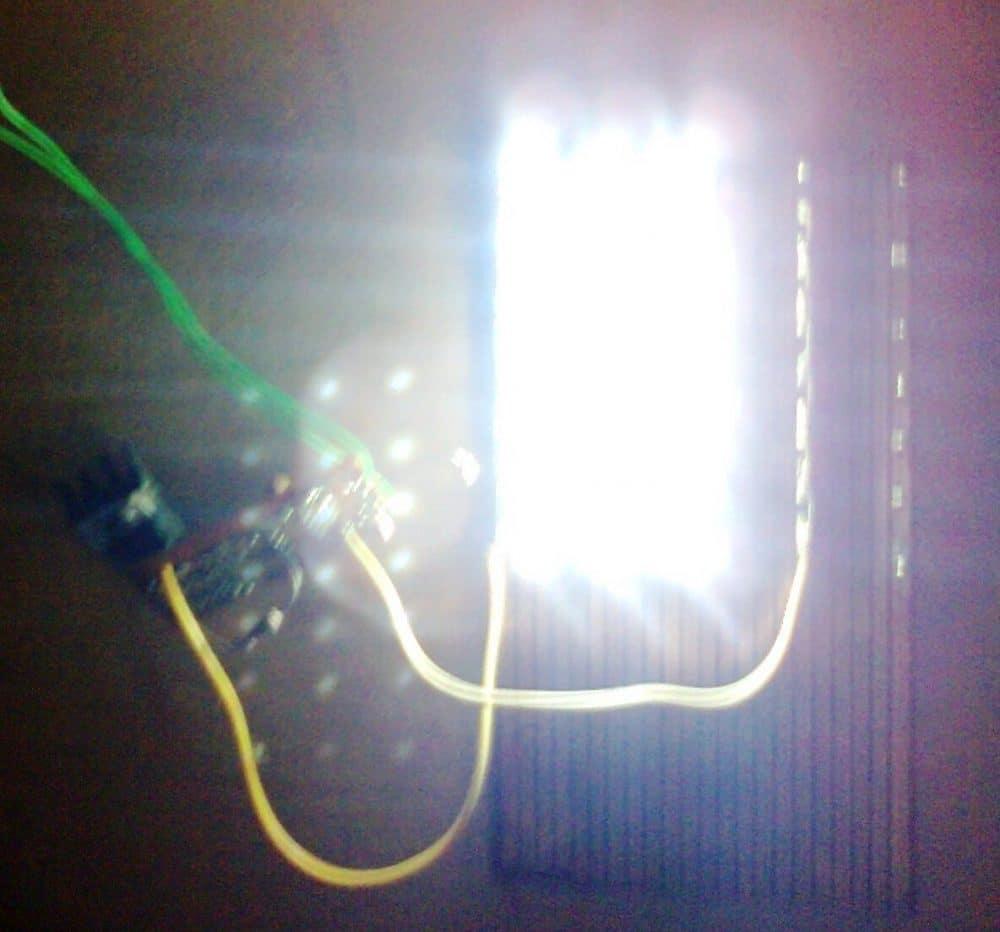 dazzling illumination 100000 lumens from 40 watt street light
