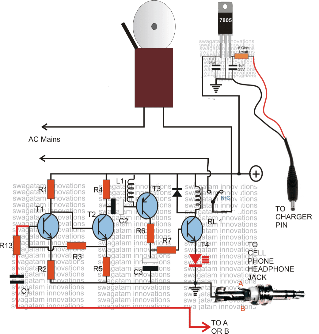 Making a Cell Phone Controlled Remote Bell Circuit