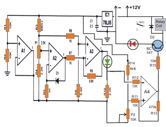 fridge thermostat circuit 1 fridge thermostat circuit diagram circuit and schematics diagram electronic thermostat circuit diagram at bayanpartner.co