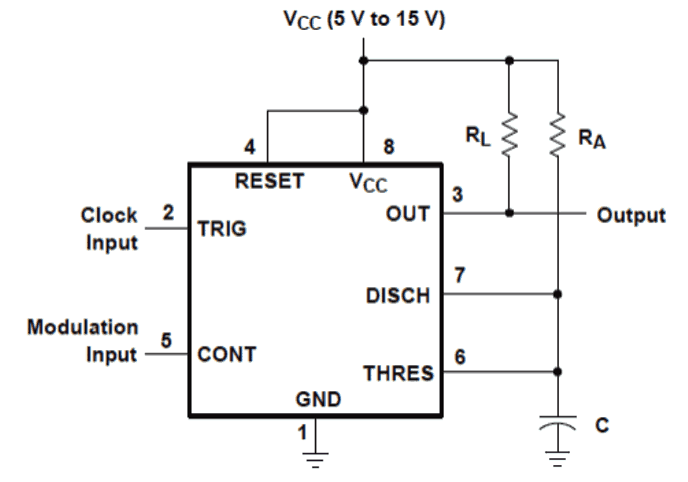 How to Generate PWM Using IC 555