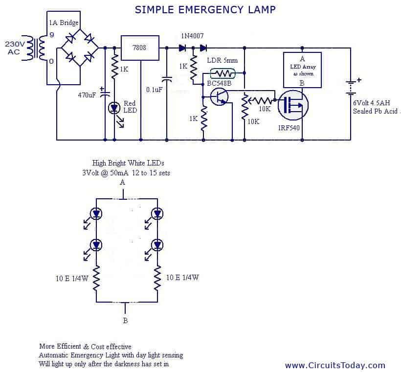 Solving LDR Controlled LED Emergency Lamp Problem