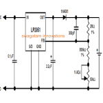 Li-Ion Battery Charger Circuit Using IC LP2951