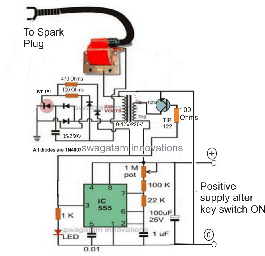 Enhanced capacitive discharge ignition cdi enhanced cdi circuit sciox Image collections