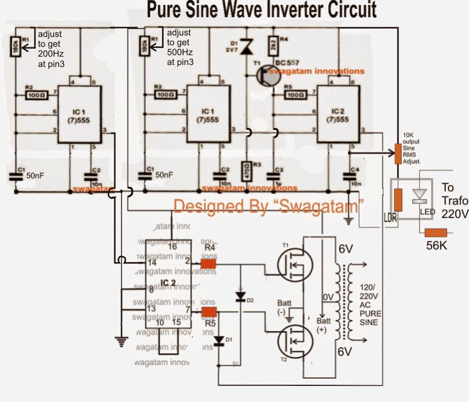 simple 200 watt modified sine wave inverter circuit, using a single 200 w inverter circuit diagram  200 watt inverter circuit diagram 200 w inverter circuit diagram #44
