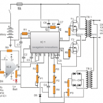 Modified Sine Wave Inverter Circuit Using IC 3525, with Regulated Output and Low Battery Protection