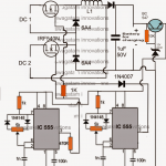 Double DC Input Hybrid Energy Charger Circuit