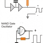 nand gate nor gate oscillator circuit 150x150 - How an Inverter Functions, How to Repair Inverters - General Tips
