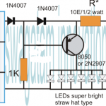 Simplest Automatic LED Solar Light Circuit – Solar Garden Light