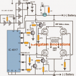 H-Bridge Inverter Circuit Using 4 N-channel Mosfets – Modified Sine Wave