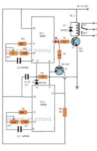 Temperature Controller Circuit for Reptile Racks