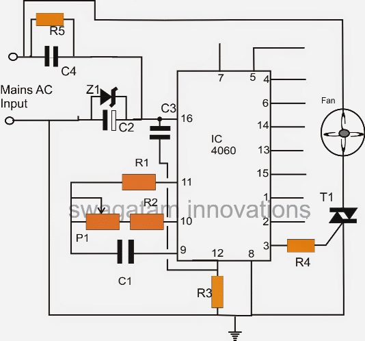 timer circuit for exhaust fans