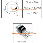 55V 110A N-Channel Mosfet IRF3205 Datasheet