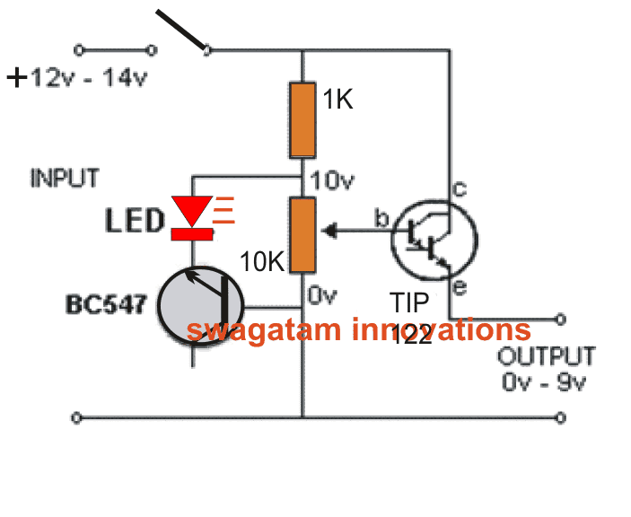 Simplest Variable Bench Power Supply Circuit