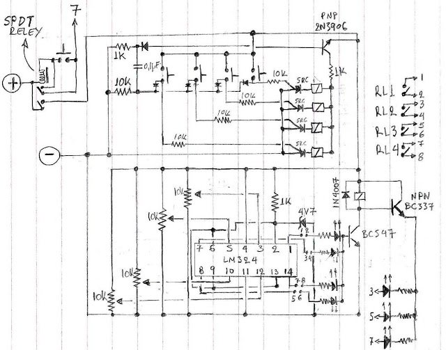 Selectable 4 Step Low Voltage Battery Cut off Circuit