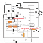 IC 4060 timer circuit with relay