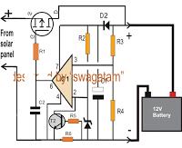 Zero Drop Solar Charger Circuit