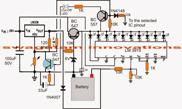 Schematic Circuit Diagram Additionally Solar Battery Charger