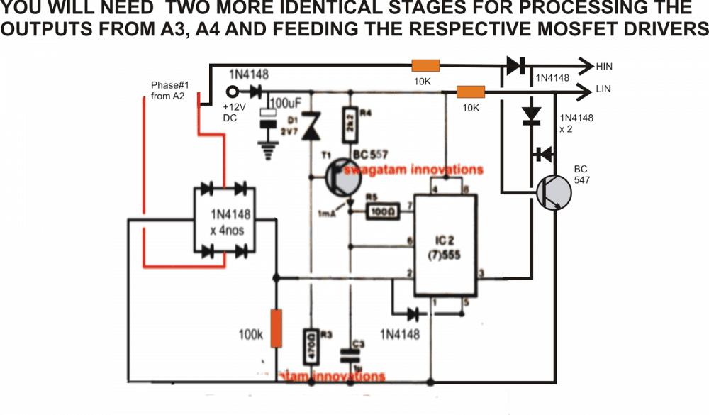Single Phase Brushless Generator Wiring Diagram Driving 3 Motor On Supply