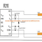 Single Phase Variable Frequency Drive VFD Circuit