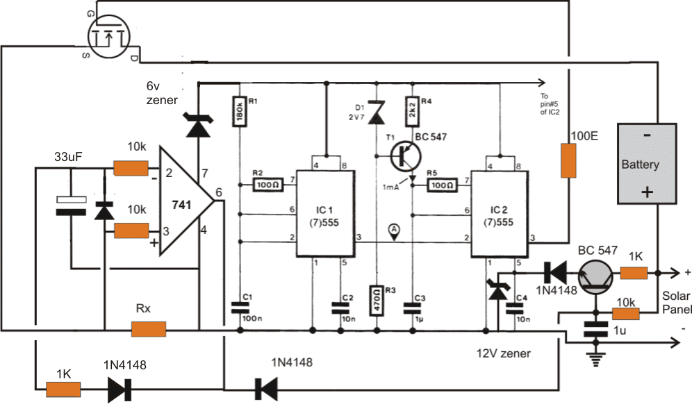 i  v tracker circuit for solar mppt applications