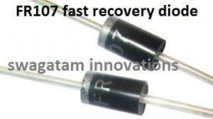 FR107 fast recovery diodes