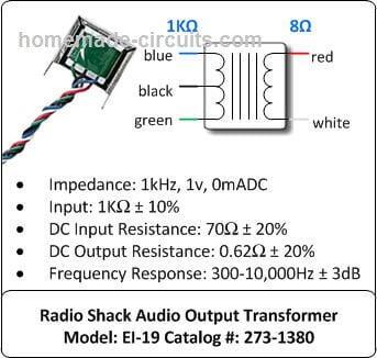 transducer driver coil details