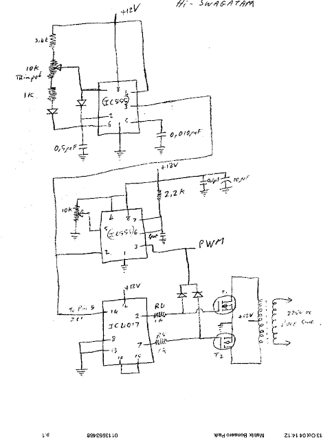 Sine Wave Inverter Circuit 500 Watt Pure Sine Circuit Diagram