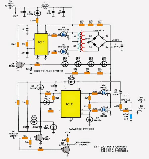 Multi-spark CDI Circuit