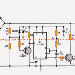 Transformerless Power Supply Circuit with Surge Free Zero Crossing Switching Feature