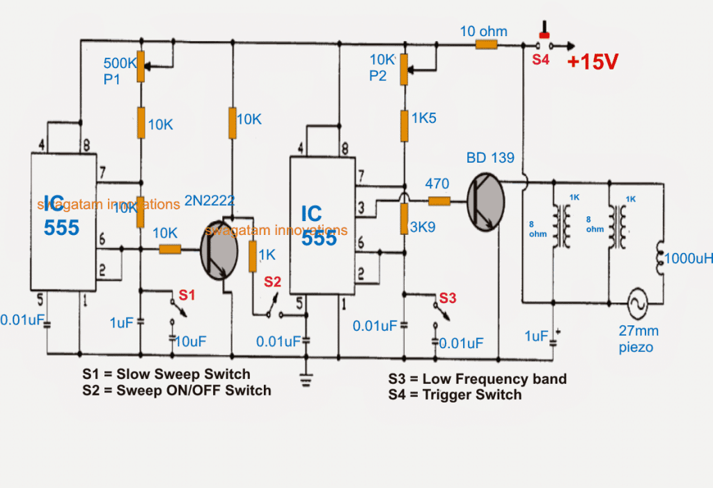 How to Make an Ultrasonic Weapon (USW) Defender Circuit