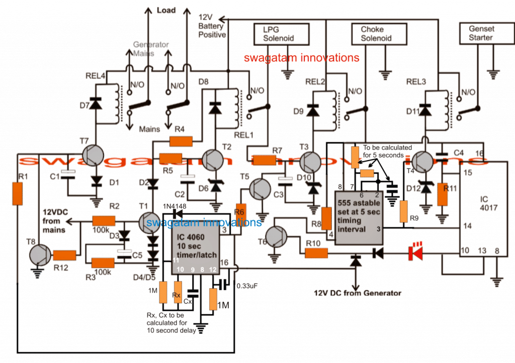 Delighted automatic transfer switch wiring diagram ideas the best generator automatic changeover switch wiring diagram somurich asfbconference2016 Gallery