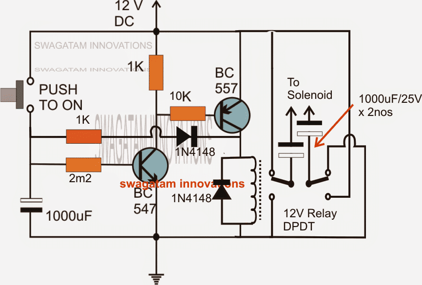 Automatic Generator Choke Actuator Circuit