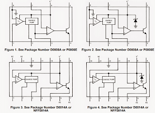 lm2907 lm2917 package pinouts - Frequency to Voltage Converter IC LM2907/LM2917 Datasheet