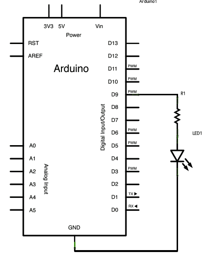 Fading an LED ON/OFF – Arduino Basics