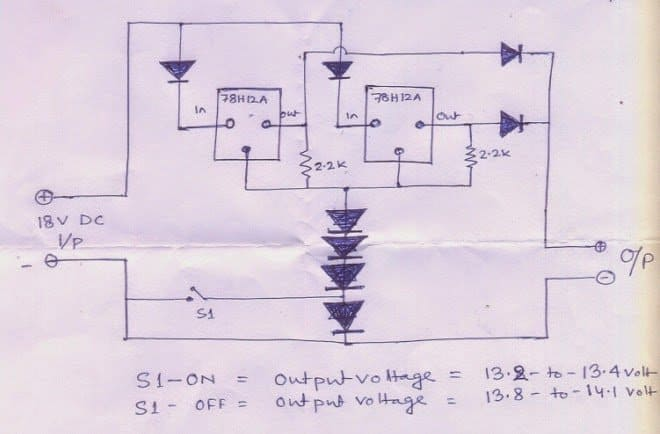 100ahbatterychargercircuit 12v 100ah battery charger circuit Battery Charger Schematic Diagram at suagrazia.org