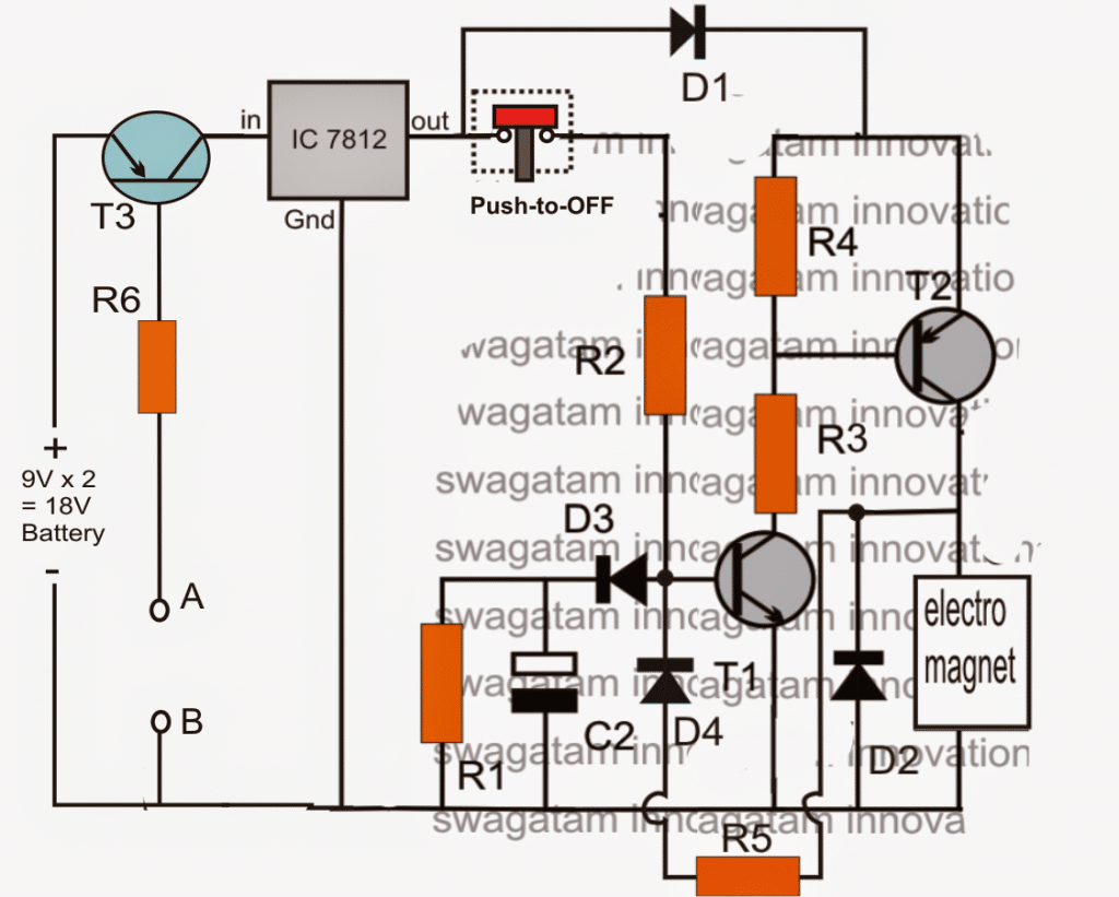 Safety Buoy Switch Circuit for Human Powered Submarine