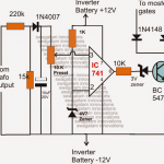 Automatic Inverter Output Voltage Correction Circuit