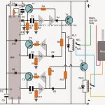 Washing Machine Motor Agitator Timer Circuit