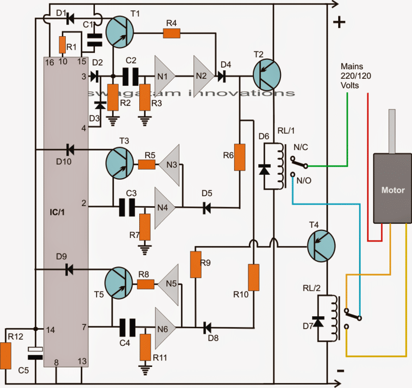 fun time wiring schematic washing machine motor agitator timer | homemade circuit ... 1970 camaro wiring schematic