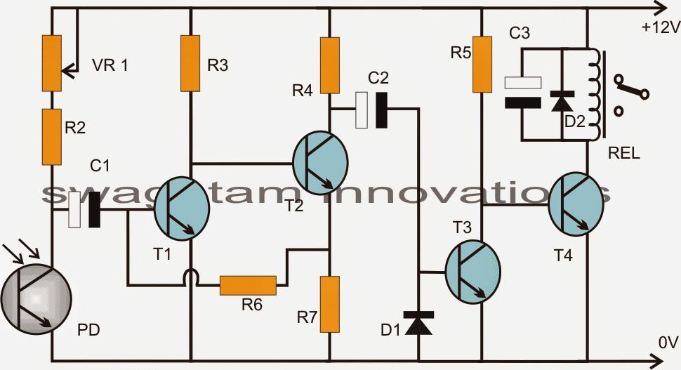 wheel rotation detector circuit 1 - Wheel Rotation Detector Circuit - Optical Encoder